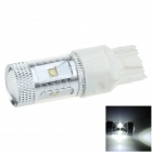7443 / 7440 / T20 30W 600lm 6 x Cree XB-D R3 White Car Steering / Signal / Brake Light - (12~24V)