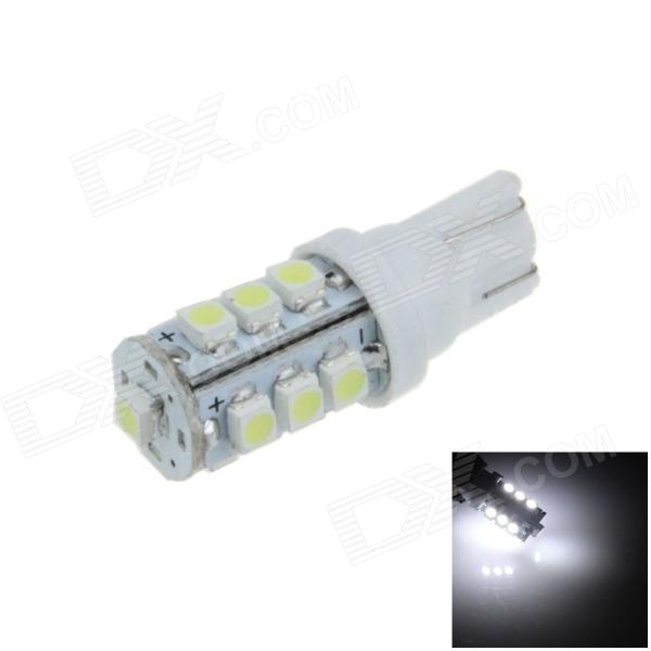 T10 / 259 / W5W 0.7W 100lm 13 x SMD 3528 LED White Car Side Light / Instrument / Reading lamp (12V)