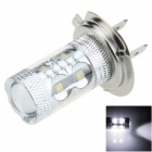 H7 50W 500lm 10-LED White Electrodeless Car Foglight / Headlamp - (12~24V)