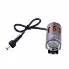 LusteFire P10 LED 5-Mode 800LM Branco Médios Bike Light w / Halo Effect - Cinza + Ouro