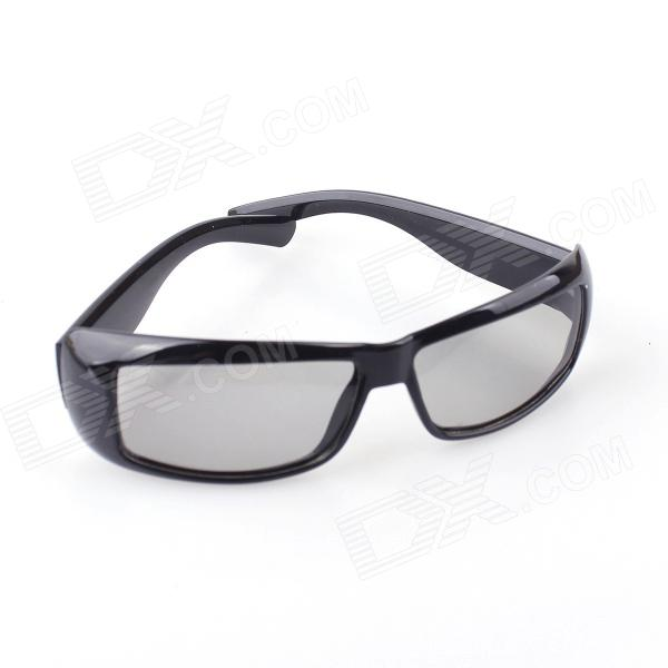 Portable Design Circularly Polarized Non-Flash 3D Glasses for 3D TV