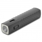 "E-DREAM SMART104 Portable ""2800mAh"" Power Bank w/ 1-LED Flashlight - Black"