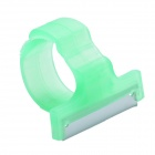 CHEERLINK Finger Ring w/ T Type Blade for Melon & Fruit Picking - Green