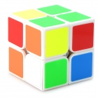 YJ YJ83208 Plastic Rubik's Cube Magic Cube Toy - White + Orange