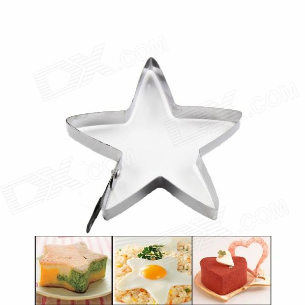 Creative Stainless Steel Star Style Fried Egg Holder - Silver stainless steel automatic egg roll machine for sale