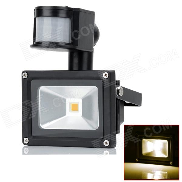 HML 10W 10W 720lm 3300K LED Warm White Light Human Body infrared Induction Floodlight (AC 100~240V)