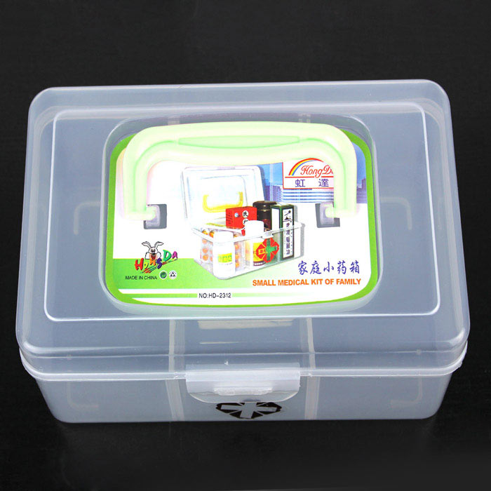 Practical 3-Section Medicine Storage Box (Small) practical 3 section medicine storage box small