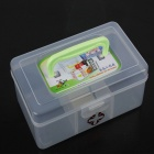 Practical 3-Section Medicine Storage Box (Small)