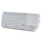 RT-Rii Mini Bluetooth v3.0 MWK02 Keyboard w / Touchpad / Laser Pointer - Weiß