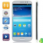 "HTM SM-H9001(H9001) MTK6582 Quad-Core Android 4.2.2 WCDMA Bar Phone w/ 6.0"", FM, GPS - White"