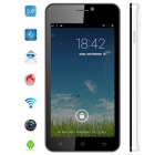 MYSAGA C2 Android 4.2 Dual Core WCDMA Bar Phone w/ 5.0' QHD, Wi-Fi, GPS and 4GB ROM - Black + White