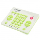 CHUNGHOP RM-L199 30-key Multifunction Study Remote Controller - Green + Beige