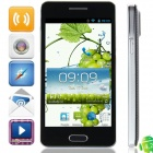 "F9006 MTK6582 Quad-Core Android 4.2.2 WCDMA Bar Phone w/ 4.3"", FM, Wi-Fi and GPS - Black + Grey"