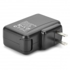 MG-01 USB 4-Port Power Adapter w/ 2-Flat-Pin Plug - Black (DC 5V)