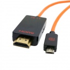 CY MH-065 Slimport MyDP to HDMI Male HDTV Full HD Adapter Cable for Google Nexus 4 / 5 / Nexus 7