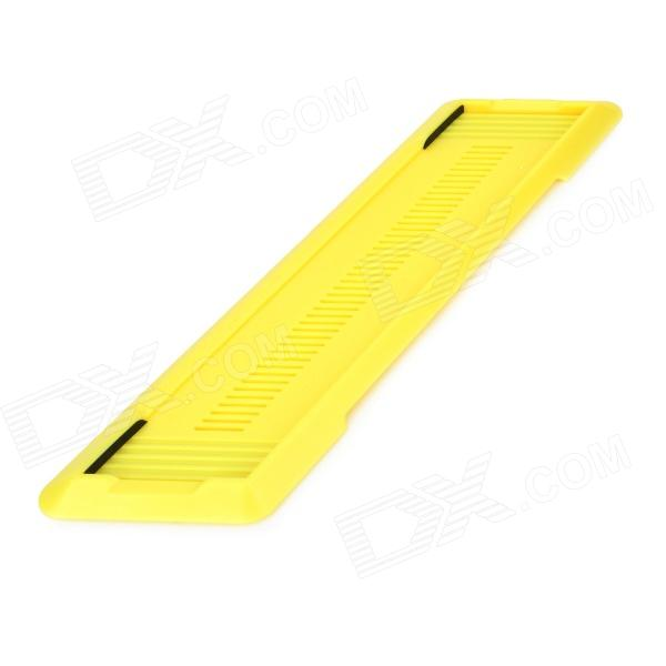 Thin Plastic Holder for PS4 - Yellow
