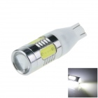 T15 / T13 / 921 11W 600lm 1-CREE XP-E + 4-COB LED White Car Clearance lamp / Side Light - (12~24V)