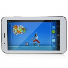 "TeamGee Talk Pad E701  7.0"" Android 4.2 Dual Core Tablet PC w/ 512MB RAM, 4GB ROM - White + Silver"