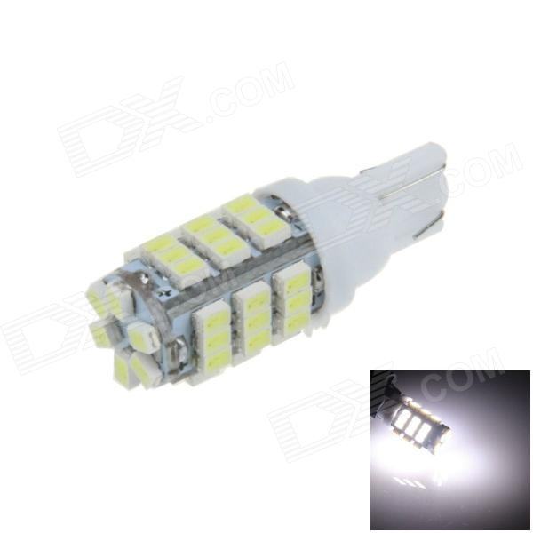 T10 / 194 / W5W 1W 120lm 42 x SMD 1206 LED White Car Clearance lamp / Indicator / Side Light - (12V) white color t10 led 8 smd 1206 8leds 8smd car interior light 194 168 192 w5w 3020 auto wedge lighting dc 12v clearance lights