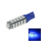 T10 / 194 / 147 / W5W 3W 250lm 68 x SMD 1206 LED Blue Car Clearance Lamp / Side Light - (12V)
