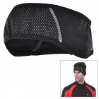 MONTON 113152286 Outdoor Sports Cycling Warm Headband - Black (Free Size)