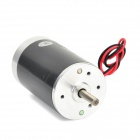ZYT38S-RA/CCW 12V 10W High Speed Adjustable Permanent Magnet PMDC Motor - Silver + Black