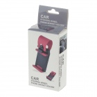 5121 Car Steering Wheel Phone Socket Holder - Black + Red