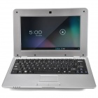 "WM-8880-MID  10"" Screen Android 4.2 Netbook w/ Wi-Fi / RJ45 / Camera / HDMI / SD Slot - Silver"