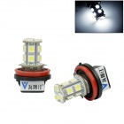 Walang ting H11 3W 300lm 13 x SMD 5050 LED blanche lumière voiture brouillard - (12V / 2 pcs)
