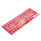 XSKN 799223332C07 USMC Keyboard Protective Film for MacBook - Red + Yellow