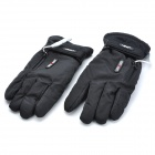 GETBEST GC6106 Motorcycle / Electromobile Rechargeable Electric Warming Gloves - Black (Pair)