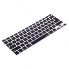XSKN 799223332H02 Silicone Protective Keyboard Cover for Apple Macbook Laptops - Black