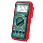"KJ KJ-9205B+ Digital 2.5"" LCD 3.5-Digit Multimeter - Black + Red (1 x 9V)"