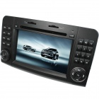 "LsqSTAR 7"" Car DVD Player w/ GPS,TV,RDS,BT,SWC,CanBus,Dual Zone for Benz ML-Class W164/GL-Class X164"