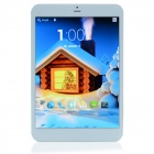 CHEERLINK Q785 7,85'' Quad-Core Android 4.2.2 3G Tablet PC w / 1 GB RAM, 8 GB ROM - Weiß + Silber