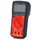 "KJ KJ-2813 2.7"" LCD 10A Digital Multimeter w/ Backlight - Black + Red"