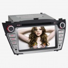 "Joyous J-8635MX 7"" Touch Screen Double DIN Car Radio w/ DVD / BT / GPS Navi / AUX Function"