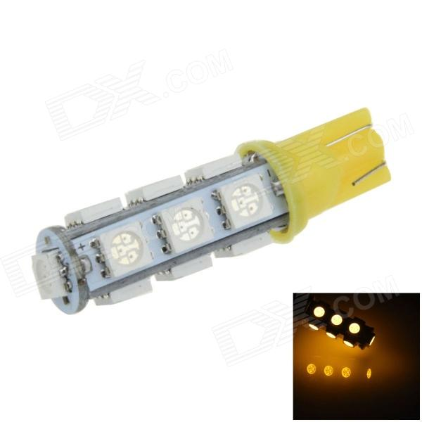 цена на T10 / 194 / W5W 2.5W 250lm 13 x SMD 5050 LED Yellow Car Side Light / Clearance / Reading lamp -(12V)