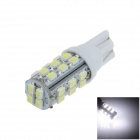 T10 / 194 / W5W 3W 250lm 28 x SMD 1206 LED White Car Side Light / Indicator / Reading lamp - (12V)