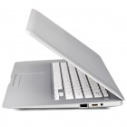 "HL-PC1388 13.3"" LCD Android 4.2 Netbook w/ Camera / HDMI / Bluetooth / GPS / RJ45 / Wi- Fi - Silver"