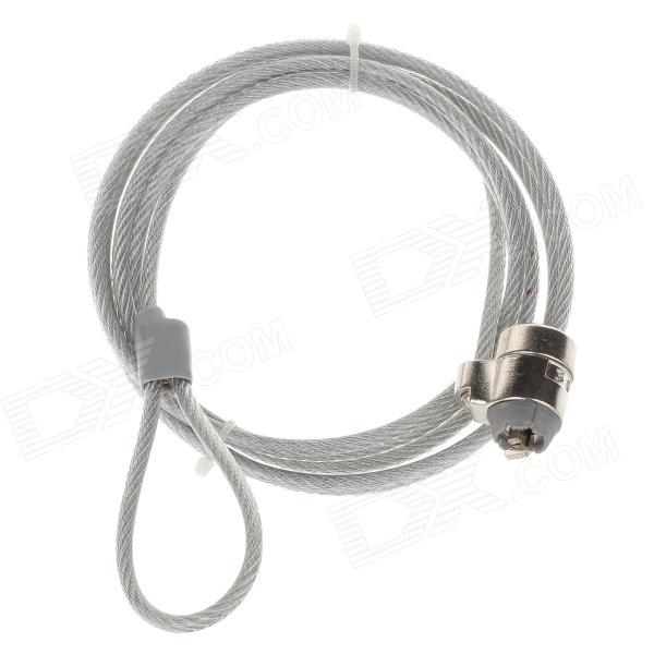 Steel Security Cable : F k steel wire rope security cable lock w key for
