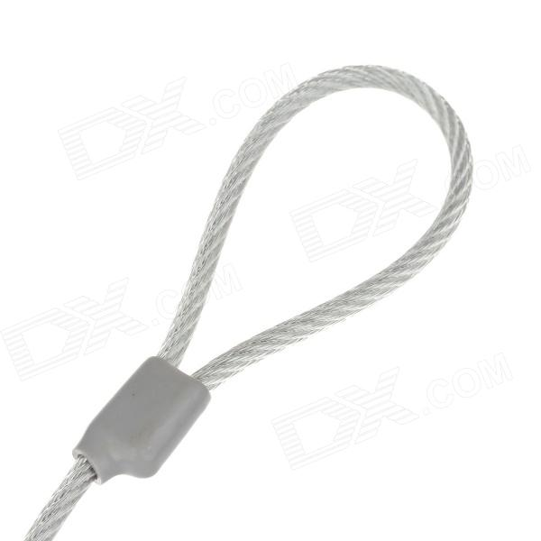 F&K Steel Wire Rope Security Cable Lock w / 2-Key for Laptops ...