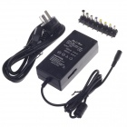 De Li Bao 96W Multi-function Laptop Power Adapter w/ 8 Plugs - Black (250V)