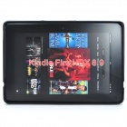 """X"" Style Protective TPU Back Case for Kindle Fire HDX 8.9 - Black"