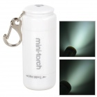 Mini-Torch X7 USB Rechargeable 1-LED 2-Mode White Flashlight - White