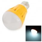 YJ Q05 E27 5W 350lm 6000K 18-2835 SMD White Light Bulb - Orange (AC 220V)