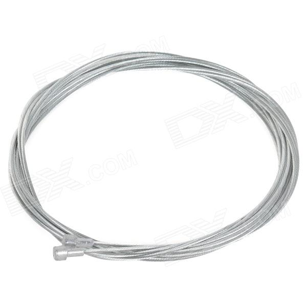 JSZ Bike Brake Shifter Cable Wires - Silver (2 PCS)