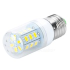 JRLED JR-LED-E27-5W E27 5W 350lm 3300K 24-5630 SMD Warm White Light Bulb - White (AC 85~265V)