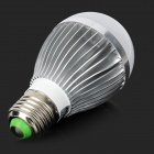 HESION HS01005A E27 5W 450lm 3000K 5-LED Warm White Light Bulb - Silver (AC 85~265V)
