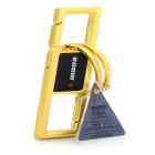 Omuda 3676 Luxurious Alloy Steel Key Ring - Golden + Black
